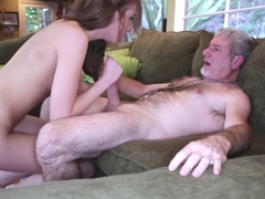 Molly Manson Sucking A Big Matured Daddy Cock