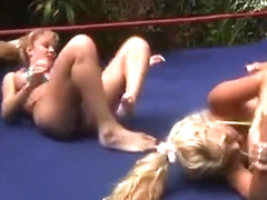 DT Wrestling Stacy Burke VS Tanya Danielle