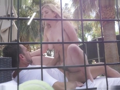Serena Avery in Stepbro Gives Tennis Lesson To Horny Stepsis - SpyFam