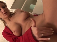 Exotic pornstars Ferrara Gomez and Samantha Jolie in best blonde, blowjob adult video
