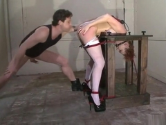 Racy Audrey Hollander in kinky porn video