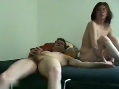 So sexy belgium brunette wife play with husband in front her webcam sunday