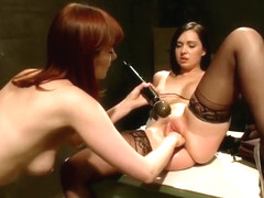Lesbian porn video featuring Angell Summers and Maitresse Madeline