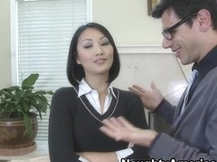 Evelyn Lin & Denis Marti in Naughty Book Worms