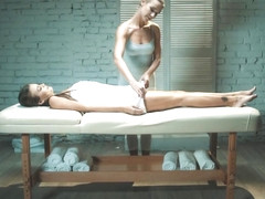 Full Body Massage Episode 2 - Erotic Massage - Alexis Crystal & Cindy Shine - VivThomas