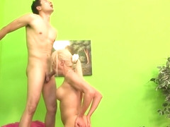 Shemale ass creampied