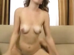 Midget Fake Agent Fucks Amateur Babe On Couch
