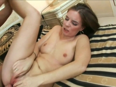 Best pornstar Evelyne Foxy in Amazing Masturbation, Brunette xxx video