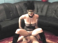 My Hot Masked Mistress Wife Toy Pegging Piss CD Sissy Slave