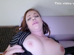 Busty crazy MILF stepmom grabbed a stepsons big cock