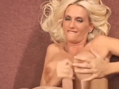Rhyse Richards Gorgeous Blonde Handjob