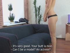 Tricky Agent - Lindsey Olsen - Modest blondy turns to be really starving for sex!