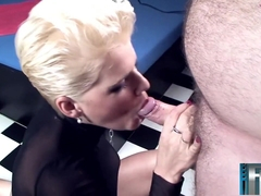 Horny pornstar Scarlet Young in incredible hd, blonde adult scene