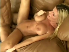 Kristal Summers gets her tramp-stamped ass groped while fucking