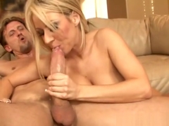 Carolyn Reese takes a Big White Cock