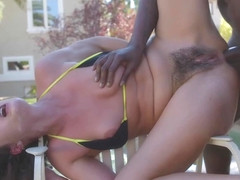 Helena Price - Outdoor Interracial Anal Pleasure For Milf Helena