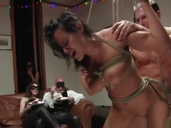 Hot girl manhandled and ass