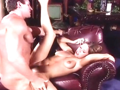 Horny Chick Climbs On Her Man's Hard Dick For A Ride