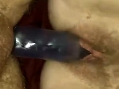 Our first experience with a double dildo.