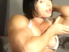 Female Bodybuilder Rene Campbell Webcam