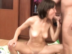 Wild oral pleasure with hot angel