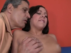 Crazy pornstars Lisa Lee and Ivy Winters in best blowjob, small tits sex video