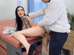 Small Tits Marley Brinx Pounded By The Doctor In The Clinic