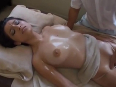 young blonde tricked by japanese massage