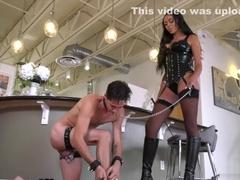 Black Bethany Benz enjoys nasty sex with her husband