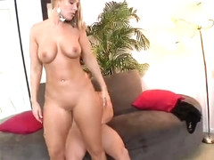 Honey blonde mom Jordan Blue featuring hot handjob sex video