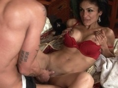 Awesome pornstar Persia Pele gets slammed
