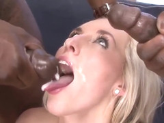 Black Schlongs for askinny white blonde babe !!