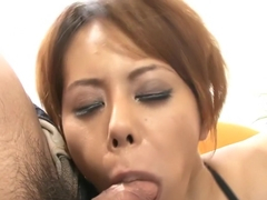 Amazing Japanese whore Moe Aizawa in Hottest JAV uncensored Blowjob clip