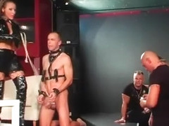 S&m Fetish Action With Chap Getting Wax And Mouth Fucked