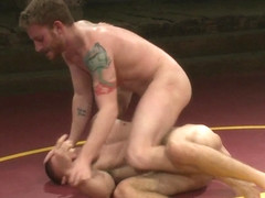 NakedKombat Jacques Le Cock LaVere vs Sebastian The Tiger Keys Oil Match