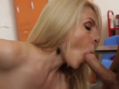 I cum on my teacher's face, Angela Attison