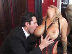 MILF Alyssa Lynn takes a big dick creampie - Mrs. Creampie