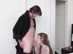 Dad Fucks Pal's Daughter Tied And Mother Car Blake Commences