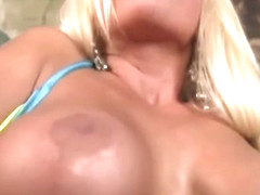 Nikita Von James sticks a toy inside her tight pussy