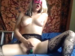 masked blonde on chaturbate