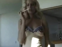 Sophie Evans Smoking