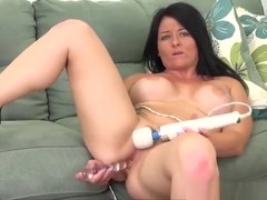 Delightful tattooed Casey Cumz play her self