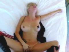 SEXY BLONDE GETS FUCKED UNDERNEATH POV IN A MANDALAY WINDOW!