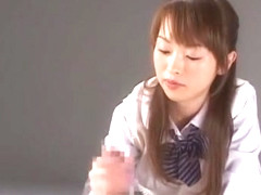 Incredible Japanese chick Hikaru Hozuki in Hottest Masturbation, Lingerie JAV clip