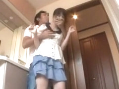 Incredible Japanese whore Mika Futaba, Tsumugi Serizawa, Nana Usami in Amazing Couple JAV clip