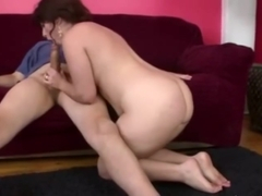 SIMONE DELILAH - SUCKS OLD GUY'S COCK