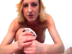 POV Leopard Print Panty Handjob and Dirty Talk Until You Cum in Panties