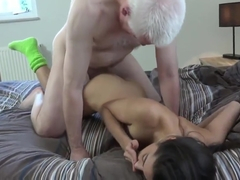 Petite Young Small Tits Hardcore Student old man