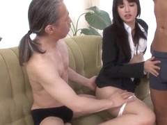 Complete threesome in rough modes for Kotomi Asakura
