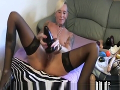 LadyIsabell666 anal slut gaping and prolapsing her asshole